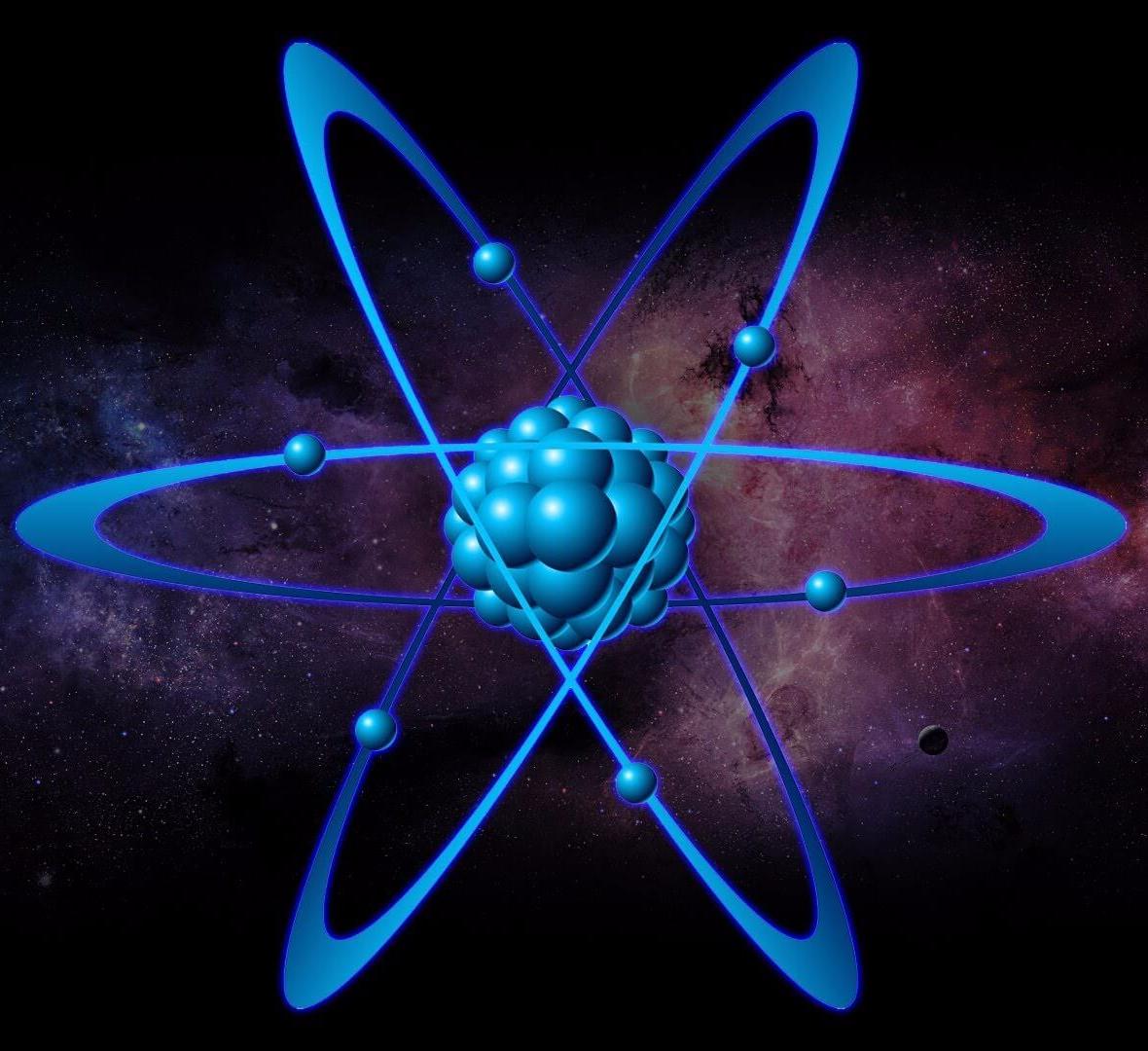 атом ядро картинки место