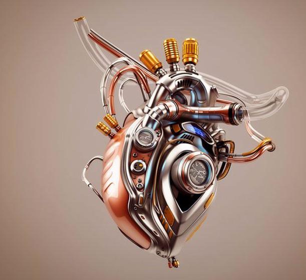картинки сердце с мотором для выявления наружных