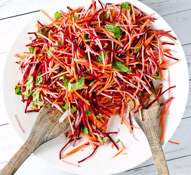 Салат из моркови для похудения рецепт