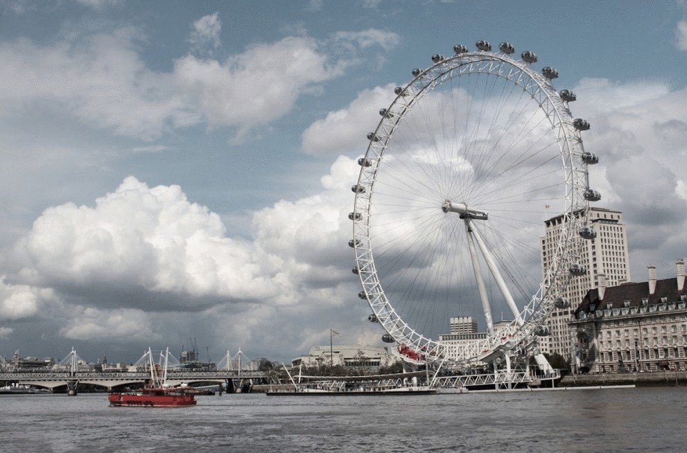Картинка лондонский глаз в лондоне