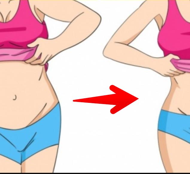 Чтобы похудеть в области талии живота