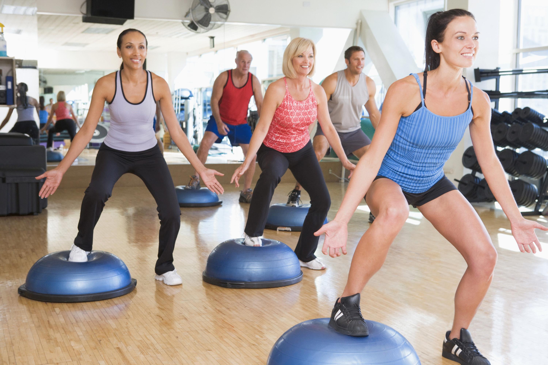 Групповые занятия в фитнес клубе для похудения
