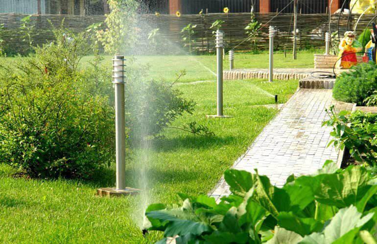 Автоматчиеские поливочные системы Hunter для газона и сада