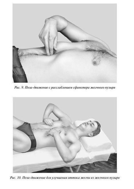 Упражнения для улучшения оттока желчи